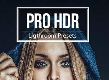 PRO HDR - 5 Premium Lightroom Presets
