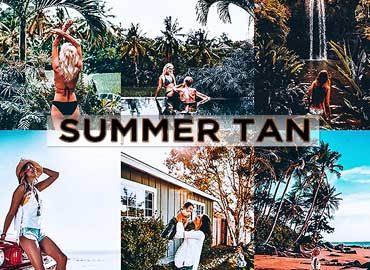 Summer Tan Lightroom
