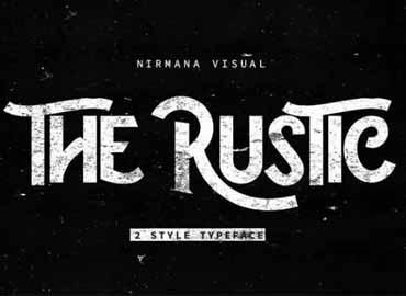 The Rustic Font