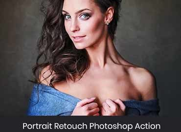 Portrait Retouch Photoshop Action