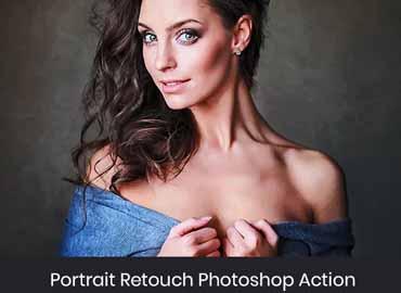 Portrait Retouch Photoshop Action