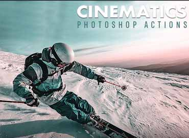 Cinematics Photoshop Actions