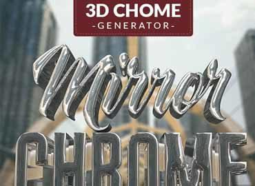 3D Chrome Generator