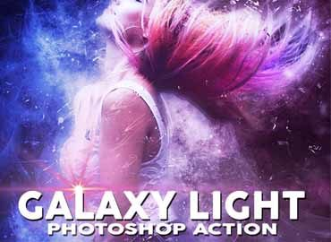 GALAXY LIGHT Photoshop Action