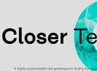 Closer Text Font