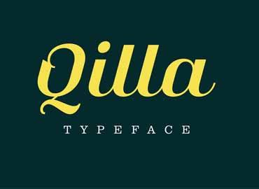 Qilla Typeface Font