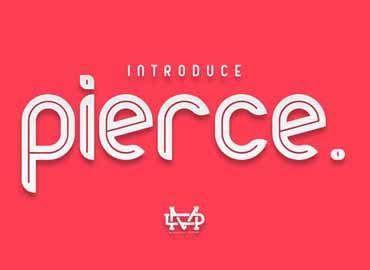 Pierce Typeface Font