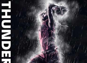 Thunderstorm Photoshop Action
