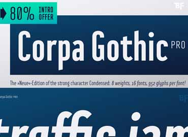 Corpa Gothic™ Pro Complete Family