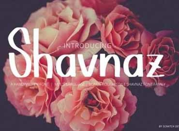 Shavnaz Font