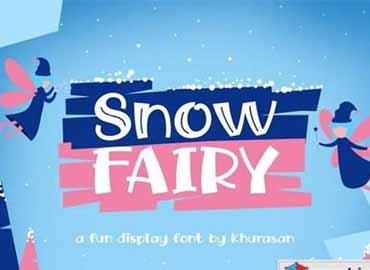Snow Fairy Font