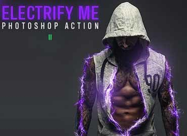Electrify Me Photoshop Action II