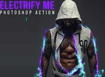 Electrify Me Photoshop Action