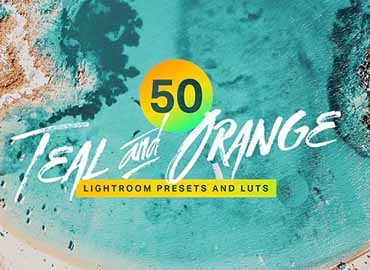 50 Teal & Orange Lightroom Presets and LUTs