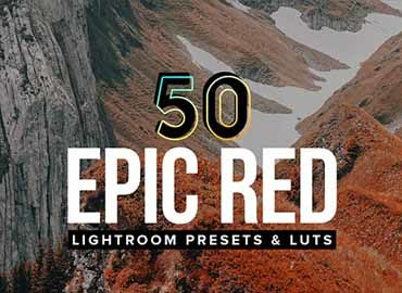 50 Epic Red Lightroom Presets and LUTs