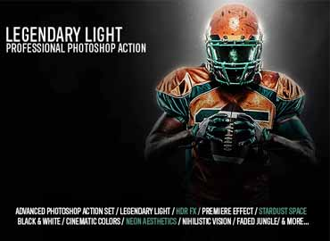 Legendary Light Photoshop Action
