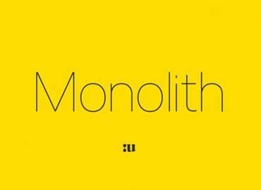 Monolith Sans Font