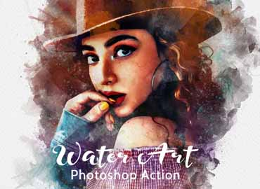 Water Art Photoshop Action