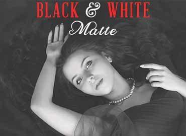 Black & White Matte Photoshop Action.