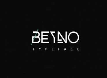 BEYNO Typeface Font