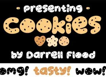 Cookies Font Free Download