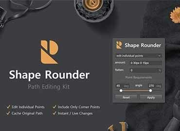 Shape Rounder - Path Editing Kit
