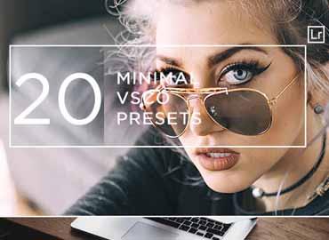 20 Minimal + VSCO Presets
