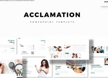 Acclamation - Powerpoint Template