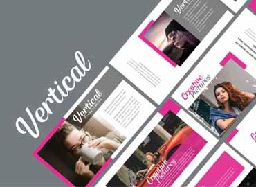 Vertical - Creative Powerpoint Template