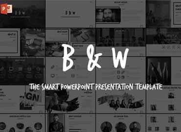 B&W - Powerpoint Template