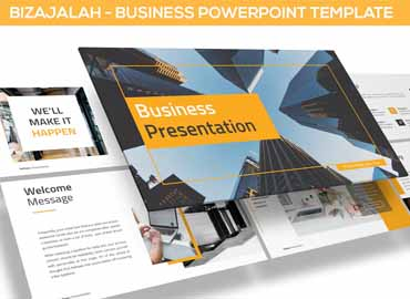 Bizajalah - Business Powerpoint Template