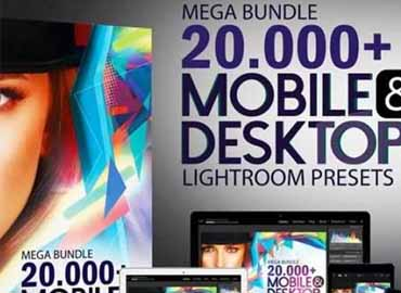 MasterBundles 20,000+ Mega bundle Mobile and Desktop Lightroom Presets