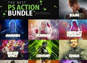 MasterBundles The Best Photoshop Action Bundle