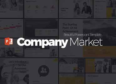 Company Market Powerpoint Presentation