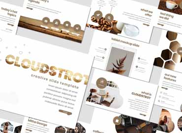 Cloudstrot - Powerpoint Template