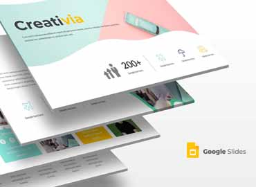 Creativia Google Slides Template