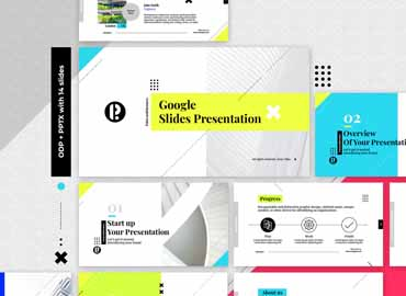 Creative Google Slides Presentation Template