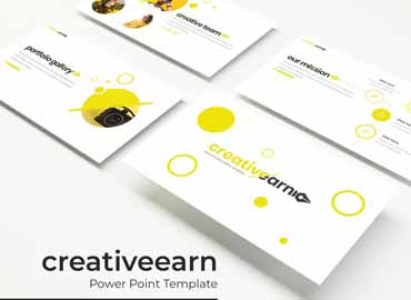creativeearn PowerPoint template