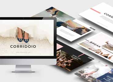 Corridoio Wedding Organizer Powerpoint Template