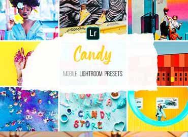 Mobile Lightroom Presets - Candy