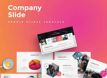 Company Slide Google Slides Template