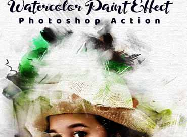Watercolor Paint Effect