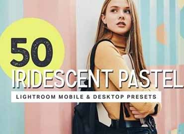 50 Pastel Lightroom Presets + LUTs